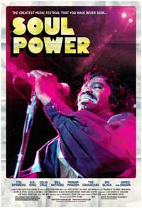 Soul Power - 43 x 62 Movie Poster - Bus Shelter Style B