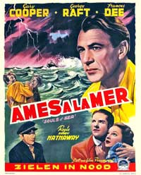 Souls at Sea - 11 x 17 Movie Poster - German Style A