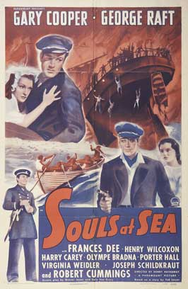 Souls at Sea - 27 x 40 Movie Poster - Style B