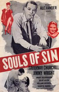 Souls of Sin - 27 x 40 Movie Poster - Style A
