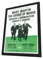 Sound Of Music, The (Broadway) - 11 x 17 Poster - Style A - in Deluxe Wood Frame