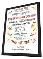 Sound Of Music, The (Broadway) - 11 x 17 Poster - Style B - in Deluxe Wood Frame