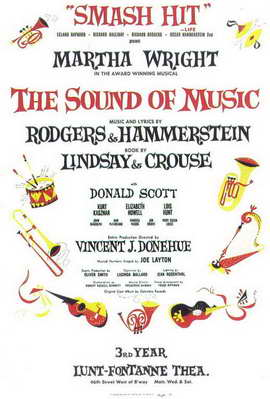 Sound Of Music, The (Broadway) - 11 x 17 Poster - Style B