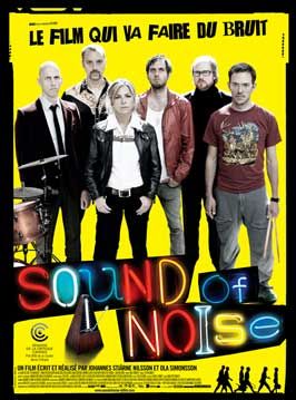 Sound of Noise - 11 x 17 Movie Poster - French Style B