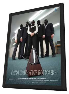 Sound of Noise - 27 x 40 Movie Poster - French Style A - in Deluxe Wood Frame