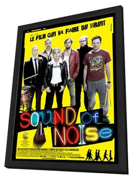 Sound of Noise - 27 x 40 Movie Poster - French Style B - in Deluxe Wood Frame