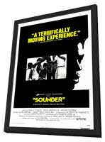 Sounder - 11 x 17 Movie Poster - Style C - in Deluxe Wood Frame