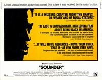 Sounder - 11 x 14 Movie Poster - Style A