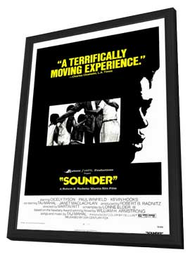 Sounder - 27 x 40 Movie Poster - Style A - in Deluxe Wood Frame