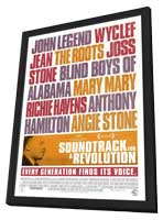 Soundtrack for a Revolution - 11 x 17 Movie Poster - Style A - in Deluxe Wood Frame