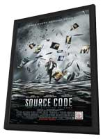 Source Code - 27 x 40 Movie Poster - Style A - in Deluxe Wood Frame