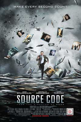 Source Code - 11 x 17 Movie Poster - Style A - Double Sided