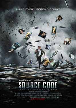 Source Code - 27 x 40 Movie Poster - UK Style A