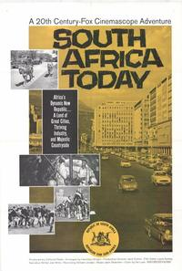 South Africa Today - 11 x 17 Movie Poster - Style A