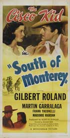 South of Monterey - 11 x 17 Movie Poster - Style A