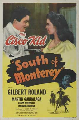 South of Monterey - 11 x 17 Movie Poster - Style B