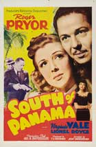 South of Panama - 27 x 40 Movie Poster - Style A