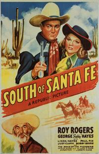 South of Santa Fe - 11 x 17 Movie Poster - Style A