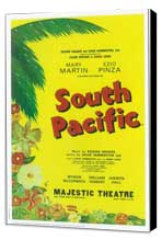 South Pacific (Broadway) - 11 x 17 Poster - Style A - Museum Wrapped Canvas