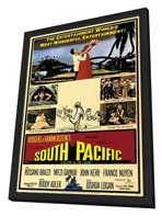 South Pacific - 11 x 17 Movie Poster - Style A - in Deluxe Wood Frame