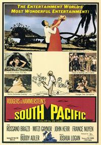 South Pacific - 43 x 62 Movie Poster - Bus Shelter Style A