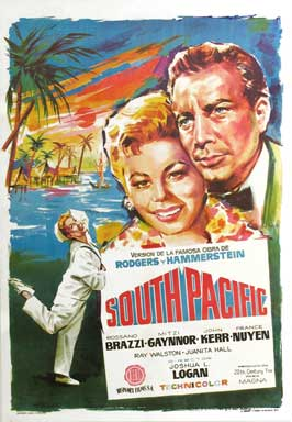 South Pacific - 11 x 17 Movie Poster - Spanish Style A