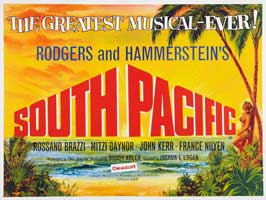 South Pacific - 27 x 40 Movie Poster - UK Style A