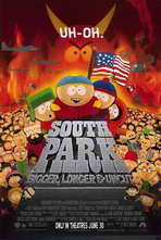 South Park: Bigger, Longer and Uncut - 11 x 17 Movie Poster - Style A