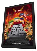 South Park: Bigger, Longer and Uncut - 11 x 17 Movie Poster - Style A - in Deluxe Wood Frame