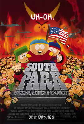 South Park: Bigger, Longer and Uncut - 27 x 40 Movie Poster - Style A