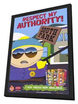 South Park - 11 x 17 TV Poster - Style B - in Deluxe Wood Frame