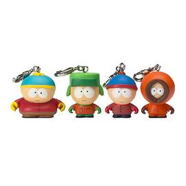 South Park - Zipper Pull Vinyl Key Chain 4-Pack