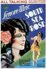 South Sea Rose - 11 x 17 Movie Poster - Style A