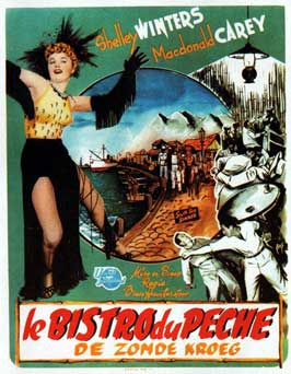 South Sea Sinner - 11 x 17 Movie Poster - Belgian Style A