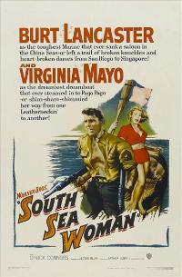 South Sea Woman - 11 x 17 Movie Poster - Style A