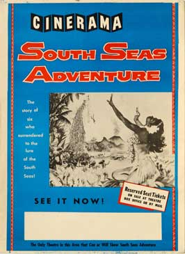 South Seas Adventure - 11 x 17 Movie Poster - Style A