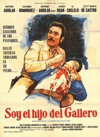 Soy el hijo del gallero - 11 x 17 Movie Poster - Spanish Style A