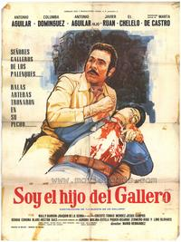 Soy el hijo del gallero - 27 x 40 Movie Poster - Spanish Style A