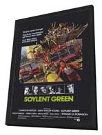 Soylent Green - 11 x 17 Movie Poster - Style A - in Deluxe Wood Frame