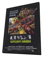 Soylent Green - 27 x 40 Movie Poster - Style A - in Deluxe Wood Frame