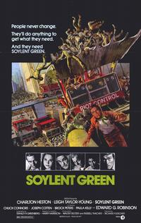 Soylent Green - 11 x 17 Movie Poster - Style A - Museum Wrapped Canvas