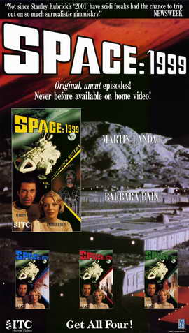 Space: 1999 - 11 x 17 Movie Poster - Style A