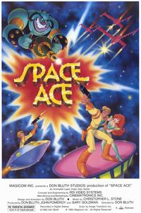 Space Ace - Video Game - 11 x 17 Movie Poster - Style A
