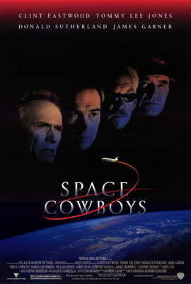 Space Cowboys - 11 x 17 Movie Poster - Style A