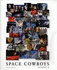 Space Cowboys - 43 x 62 Movie Poster - Bus Shelter Style A