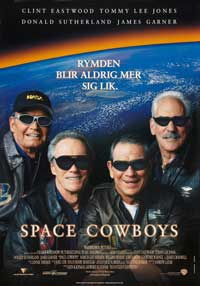 Space Cowboys - 11 x 17 Movie Poster - Swedish Style A