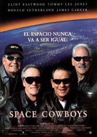 Space Cowboys - 11 x 17 Movie Poster - Spanish Style A