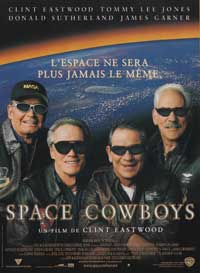 Space Cowboys - 11 x 17 Movie Poster - French Style A