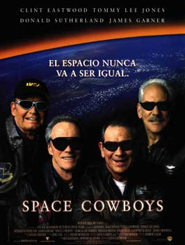 Space Cowboys - 27 x 40 Movie Poster - Spanish Style A