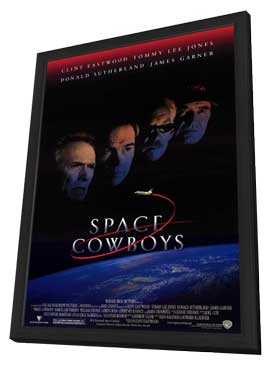 Space Cowboys - 11 x 17 Movie Poster - Style A - in Deluxe Wood Frame